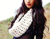 Custom Crochet Infinity Scarf (For Local Customer Delivery Only)