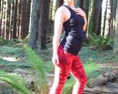 Tiger Striped Yoga Pants