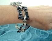 Deco beaded links bracelet
