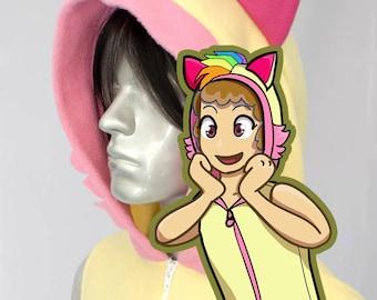 Sherbet Raccoon Hoodie, Costume, Cosplay, Adult Size, Hand-made