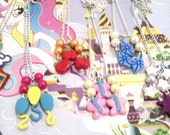 My Little Pony Friendship is Magic Mane 6 Cutie Mark Necklaces