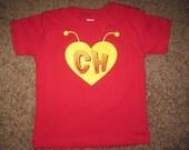 Childrens kids baby Chapulin Colorado shirt