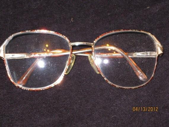 Vintage Wire Rimmed Eye Glasses
