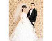 Barbie Photo - Wedding Portrait - 6x9 photo