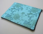 iPad Case, padded cotton case, Floral.