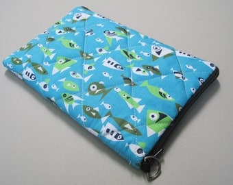 Kindle Case, Kindle 3 Case, Happy Fish