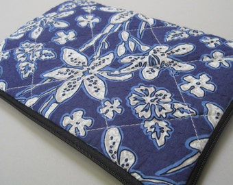 Kindle Case, Kindle 3 Case, indigo garden.