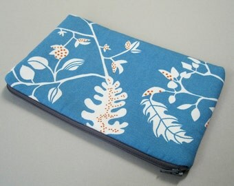 Kindle Case, Kindle 3 Case, Padded Canvas Cover.