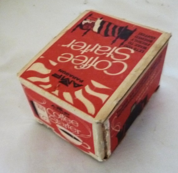 Vintage Coffee Starter Timer in the box