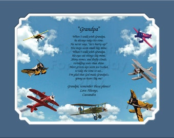 Grandpa Personalized Gift Keepsake Remembrance  plus 4 More