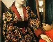 RESERVED: Petrus Christus Houppelande Gown