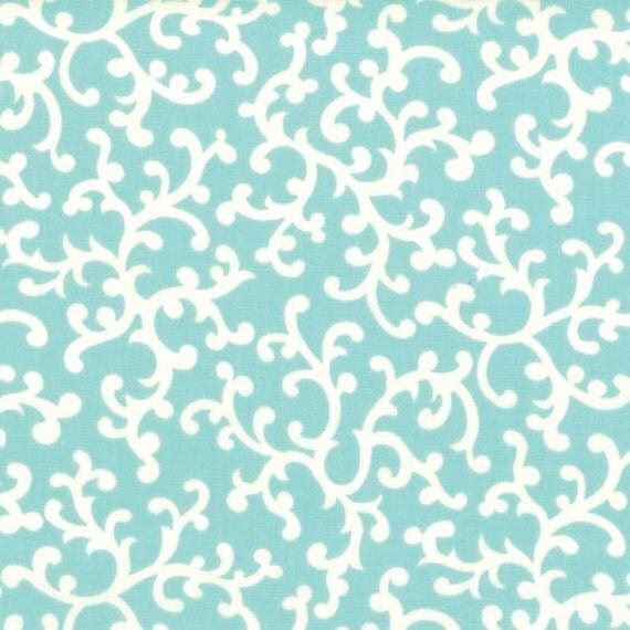 Moda VINTAGE MODERN, Sky 55047-11, Premium Cotton Fabric, 1/2 yard of fabric