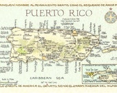 Puerto Rico in Two Sizes