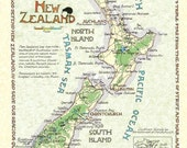 New Zealand - in Two Sizes.