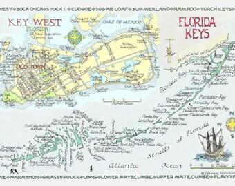 Florida Keys/Key West - Two Sizes