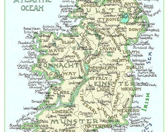 Ireland - in Two Sizes