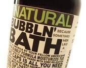 Bubbln' Bath for MEN Bubble Bath for Men Gifts for Him Castile Soap Bubble Bath, Gifts for Men