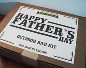 Fathers Day Outdoor Dad Kit Gift for Dads Gifts for Men for the Natural Dad or Father