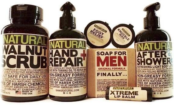 Working Mans Hygiene Kit, Gifts for Men, Hygiene for Men, Lotion for Men, Knuckle Wax, Soap for Men, Natural Hygiene Products