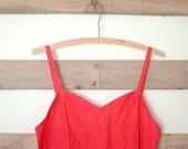 sweetheart watermelon dress