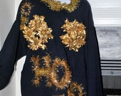 Ugly Christmas Sweater XXL Ho Ho Ho Adult