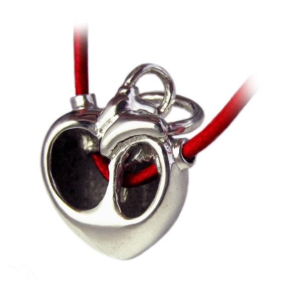 Core - Modern Anatomical Heart Pendant - Rickson Jewellery Design