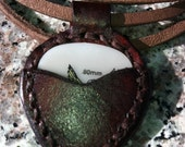 Pick Pocket Pendant  - Handmade Leather Necklace for Musicians