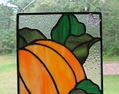 Small pumpkin panel