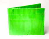 Lime Green Duct Tape Wallet