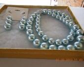 PRETTY LIGHT BLUE Pearl  Beads