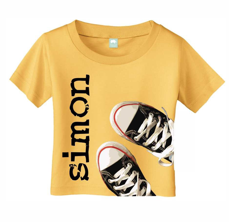Kids personalized t shirt for toddlers and by itsybitsywear for Custom kids t shirts