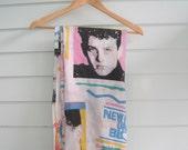 Vintage NKOTB Bedsheet--Twin Bedsheet-- New Kids On The Block 80s 90s Nostalgia Memoribilia