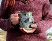 Littlest Blue Bird Coffee Mug