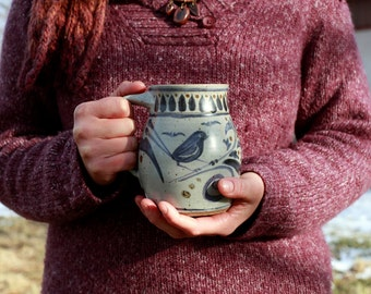 Littlest Blue Bird Coffee Mug