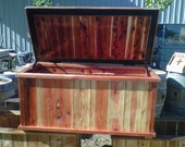 Redwood Chest Indoor/Outdoor