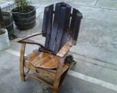 Wine Barrel Chair, Vintners Choice