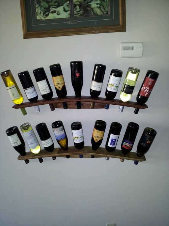 Free Shipping-Wall Mounted Wine Rack, Concave & Convex