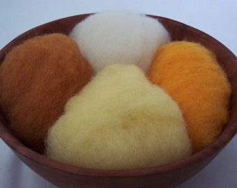 Needle Felting Wool - Good Morning Wool Sampler-Wet Felting Wool