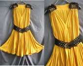 Honey Party Dress - Romance Night Cocktail Dress - Sound of Flowy Tank Top Tunic Dress