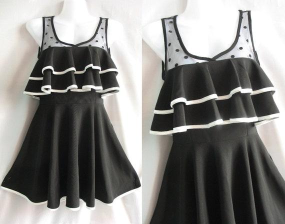 Little Black Dress Cocktail Dress Teen Girl Clothing - Romance Night Girl Christmas Gift