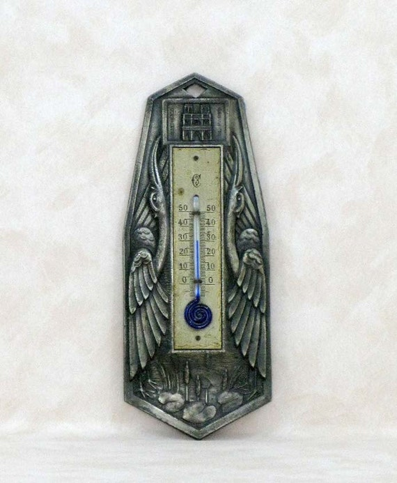 Reserved for Chad - DO NOT BUY art nouveau french alcohol thermometer