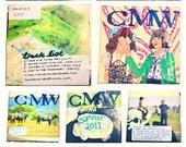 Colour Me Wednesday Demo/sampler CD 2011