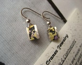 Item-19-Japanese washi paper sterling earrings by heavenly cranes jewelry