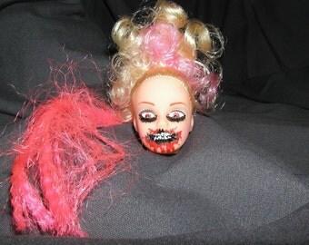 Pink Rage - Custom Zombie Bust