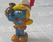 Indian Smurfette with Jug