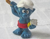 Vintage Bathing Smurf