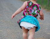 Anna's Reversible A-line Dress for Infants and Little Girls
