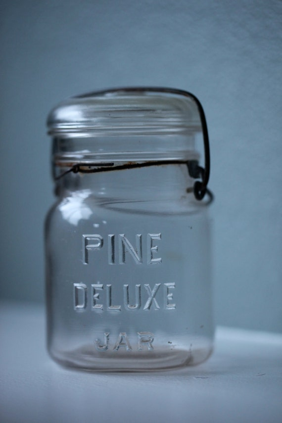 Pine Deluxe Canning Jar