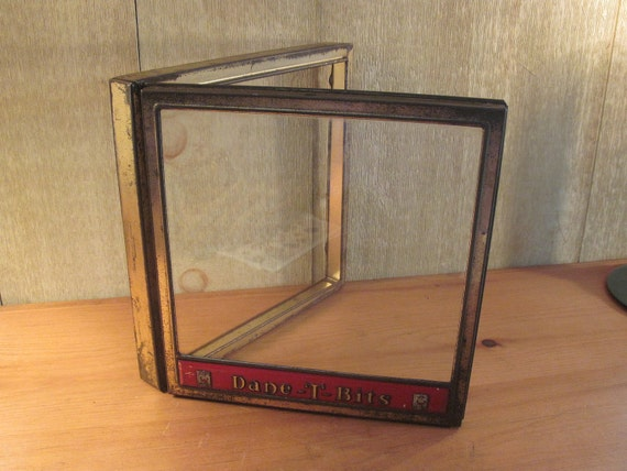 "Two Vintage Store Display Box Covers ""Dane-T-Bits"""