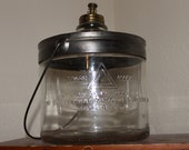 "Vintage ""Cleveland Metal Products Co."" Perfection Stove Company Kerosene Dispenser"
